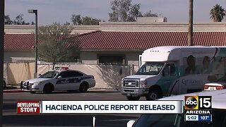 Police report released on the Hacienda investigation