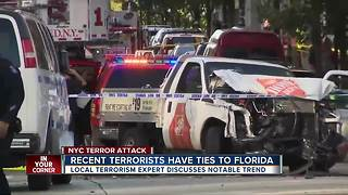 Recent terrorists have ties to Florida - Video