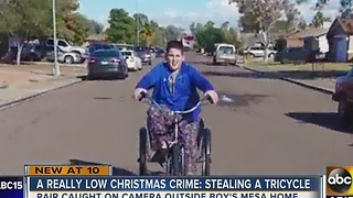 Mesa boy with autism devastated after bicycle stolen - Video