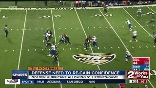 Tulsa Football players 'angry, hurt' by last-second loss to Toledo - Video