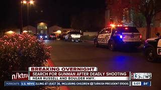 Man killed at apartment complex - Video