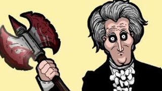 Andrew Jackson: Most Terrifying Man Ever Elected President - Video