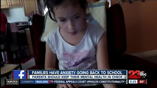 Rebound Kern County: Families have anxiety going back to school