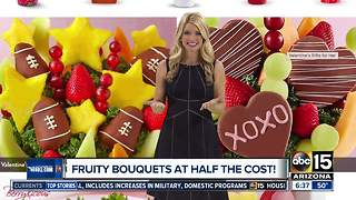 Get fruit bouquets for a great price - Video