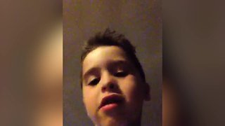 Little Boy So Happy About His New Hair - Video