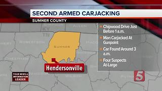 Hendersonville Police Investigate 2nd Carjacking In 24 Hours - Video