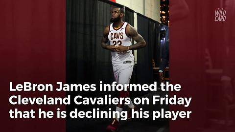 Lebron To Become Free Agent, Reportedly Holed Up In 'Decision Cave' In Caribbean