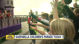 Pirate kids claim Bayshore for Gasparilla Children's Extravaganza - Video