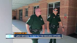 A flat out no: Largo leaders refuse to fund school resource officers - Video