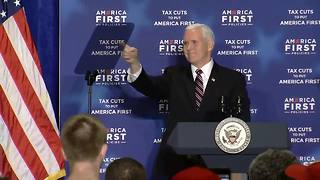 Vice President Pence asks crowd to 'pray for America' - Video