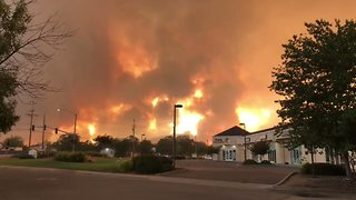 Homes in California's Redding Face Destruction as Carr Fire Spreads - Video