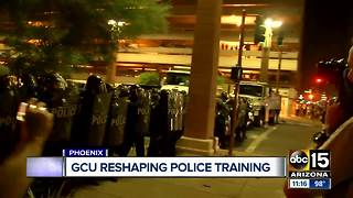 Grand Canyon University looking at new ways to train officers - Video
