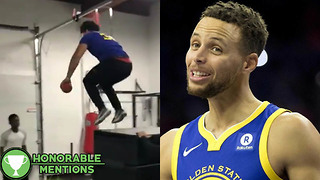 Fans Take on the Steph Curry Challenge! - HM - Video