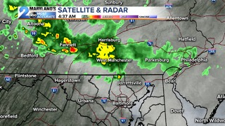 Showers and Storms Possible - Video