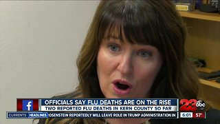Officials concerned about high number of flu deaths - Video