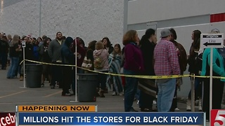 Black Friday Shoppers Take On Tennessee Stores - Video