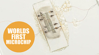 World's first microchip - Video