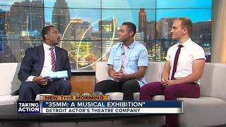 The DATC presents '35MM: A Musical Exhibition' Aug. 18, 19, 25 and 26 - Video