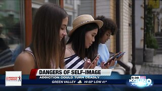 Teens cope with self image obsession