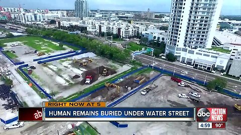 Human remains found in Tampa