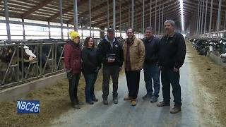 Greenleaf dairy farm wins conservation award - Video