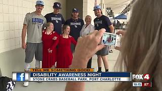 Stone Crabs host first Disability Awareness Night