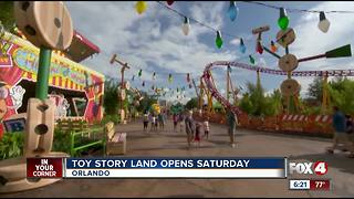 Toy Story Land opens Saturday at Disney's Hollywood Studios - Video