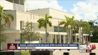 School administrator on leave after alleged racist remarks