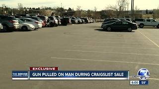 Aurora man held at gunpoint during Craigslist deal - Video