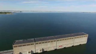 Drone Captures Beauty of Garrison Dam in North Dakota - Video