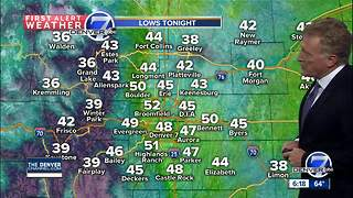 Warm and dry Friday, then cooler - Video