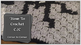 How to crochet Corner to Corner (C2C) - Video
