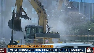 More construction coming to downtown St. Pete - Video