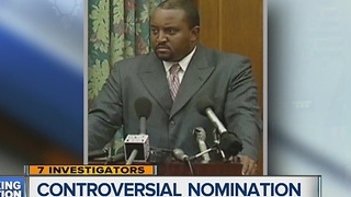 Controversial nomination withdrawn