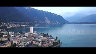 Stunning drone footage captures the beauty of Switzerland - Video