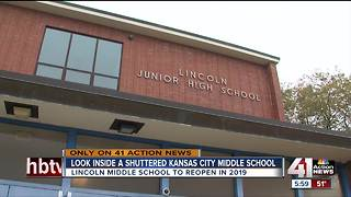 KCPS votes to reopen Lincoln Middle - Video