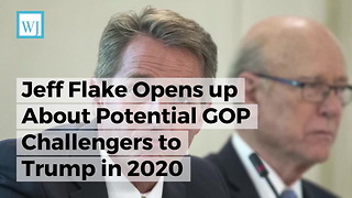 Jeff Flake Opens up About Potential GOP Challengers to Trump in 2020 - Video