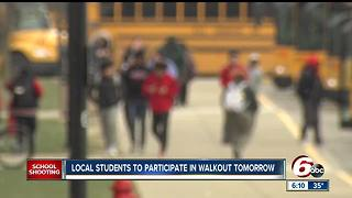 Local students to participate in walkout on Wednesday - Video