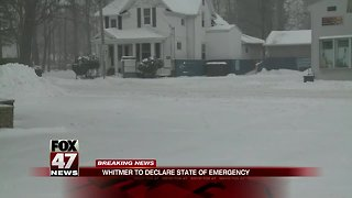 Governor Whitmer declares State of Emergency in Michigan ahead of arctic temperatures