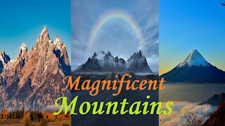 Magnificent Mountains w/ Mello Ambient Sounds Mountains/Meditate/Chill/Journeys/Visuals/Sleep/Focus