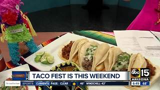 Taco Fest taking place this weekend
