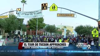 El Tour de Tucson approaches this weekend and cyclists are preparing - Video