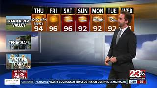 Storm Shield Forecast 081717 - Video