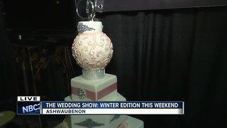 The Wedding Show: Winter Edition checking out Wedding Cakes