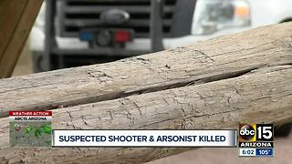 Alleged arsonist captured after week-long manhunt - Video