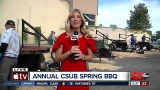 CSUB Spring BBQ grilling conditions