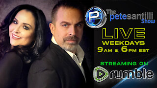The Pete Santilli Show LIVE! Daily @ 9AM & 6PM EST