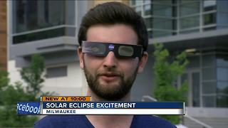Viewing glasses a hot commodity ahead of Monday's total solar eclipse - Video