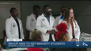 Group Aims To Get Minority Students Interested In Medical Careers
