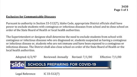 Schools preparing for COVID-19, no confirmed cases